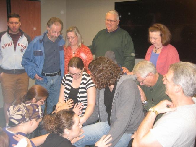Covered in prayer.