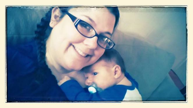 Liam and Auntie Lorie