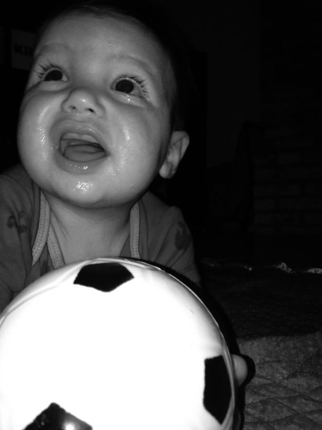 Soccer dribbler.